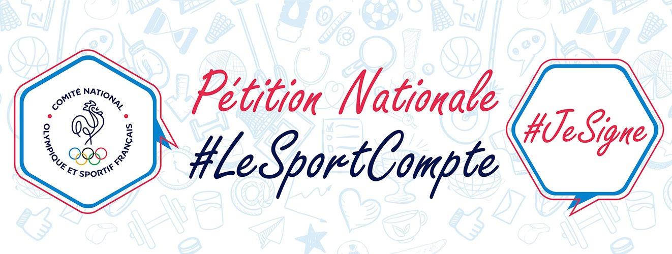 Pétition nationale, sport pour tous, tous pour le sport !